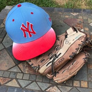 NWOT Red, White, & Blue New York Yankees Hat